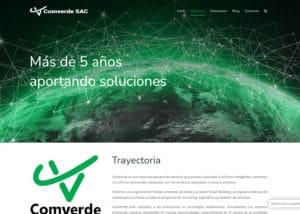 Captura de pantalla de la web comverdesac.com
