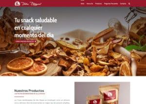 Captura de pantalla de la web villaotayza.com